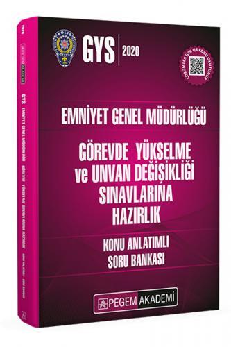 Pegem Yayınları 2020 GYS Emniyet Genel Müdürlüğü Konu Anlatımlı Soru B