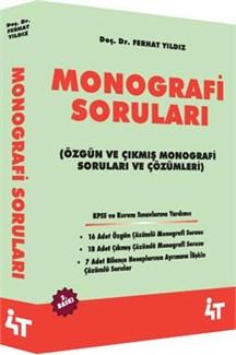 4T Monografi Soruları