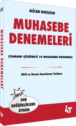 4T Muhasebe Denemeleri - Alican Dovletov