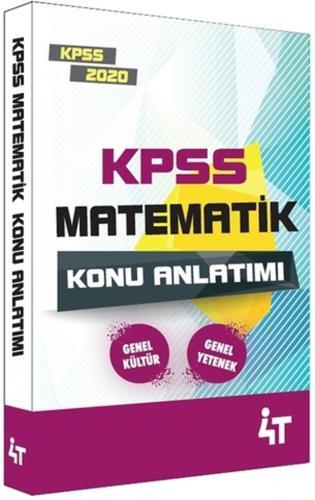 4T Yayınları 2020 KPSS Matematik Konu Anlatımı %27 indirimli Komisyon