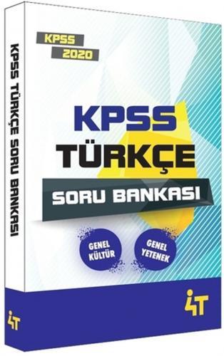 4T Yayınları 2020 KPSS Türkçe Soru Bankası %27 indirimli Komisyon