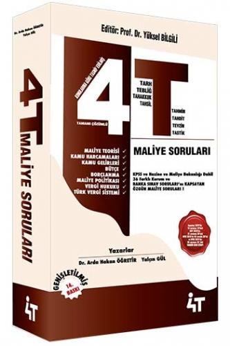 4T Yayınları Tamamı Çözümlü Özgün Maliye Soruları