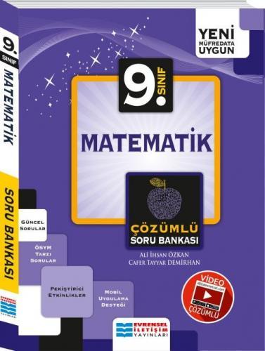 Evrensel İletişim 9. Sınıf Matematik Video Çözümlü Soru Bankası