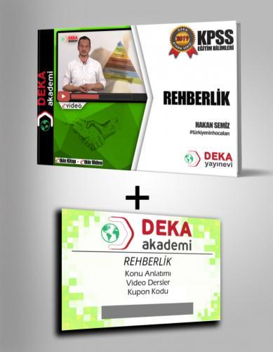 Deka Akademi KPSS Eğitim Bilimleri Rehberlik Etkin Videolu Ders Notları