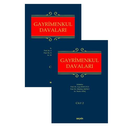 Gayrimenkul Hukuku Davaları (2 Cilt Takım)