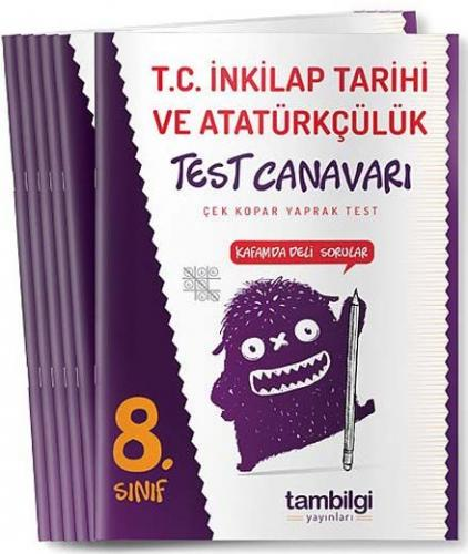 Tambilgi Yayınları 8. Sınıf T. C. İnkılap Tarihi ve Atatürkçülük Yaprak Test