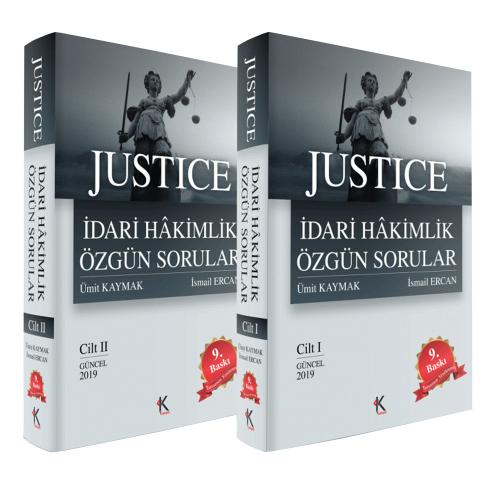 JUSTİCE İdari Hakimlik Özgün Sorular 2 Cilt