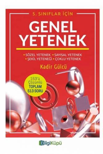 BilgiKüpü Yayınları 5. Sınıf Genel Yetenek Komisyon