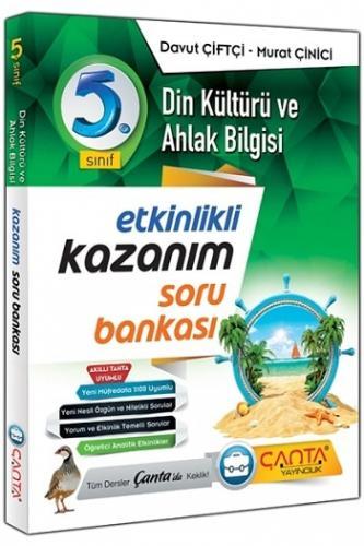 Çanta Yayınları 5.Sınıf Din Kültürü ve Ahlak Bilgisi Kazanım Soru Bankası