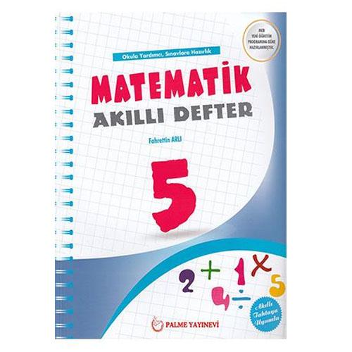 Palme 5. Sınıf Matematik Akıllı Defter