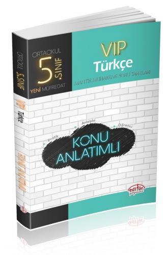 Editör 5. Sınıf VIP Türkçe Konu Anlatımlı