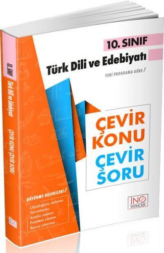 İnovasyon 10. Sınıf Türk Dili ve Edebiyatı Çevir Konu Çevir Soru