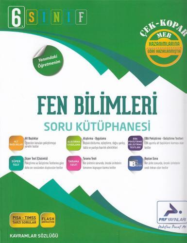 PRF 6. Sınıf Fen Bilimleri Soru Kütüphanesi Çek Kopar