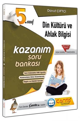 Çanta 5. Sınıf Din Kültürü ve Ahlak Bilgisi Kazanım Soru Bankası