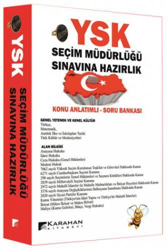 Karahan YSK Seçim Müdürlüğü Sınavına Hazırlık Konu Anlatımlı Soru Bankası