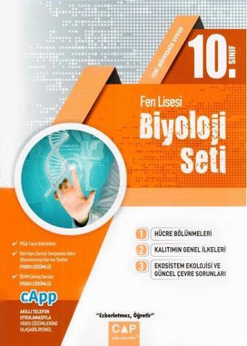 Çap 10. Sınıf Fen Lisesi Biyoloji Seti