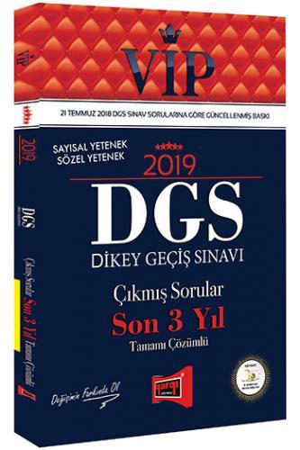 Yargı DGS VIP Sayısal Sözel Yetenek Son 3 Yıl Çözümlü Çıkmış Sorular