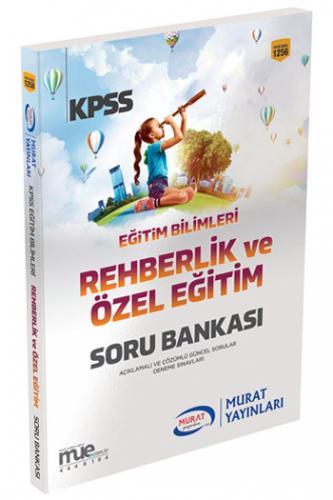Murat KPSS Eğitim Bilimleri Rehberlik ve Özel Eğitim Soru Bankası