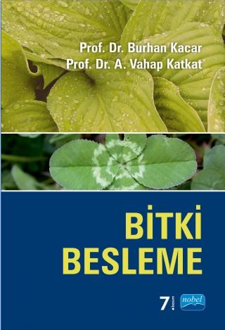 Nobel Akademi Bitki Besleme - Vahap Katkat, Burhan Kaçar