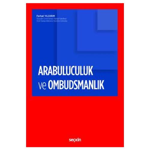 Arabuluculuk ve Ombudsmanlık