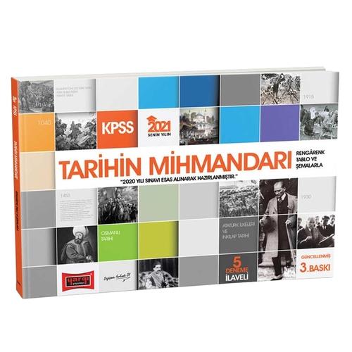 Yargı Yayınları 2021 KPSS Tarihin Mihmandarı Komisyon