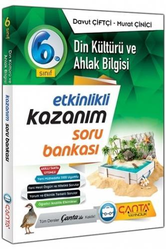 Çanta Yayınları 6.Sınıf Din Kültürü ve Ahlak Bilgisi Kazanım Soru Bankası