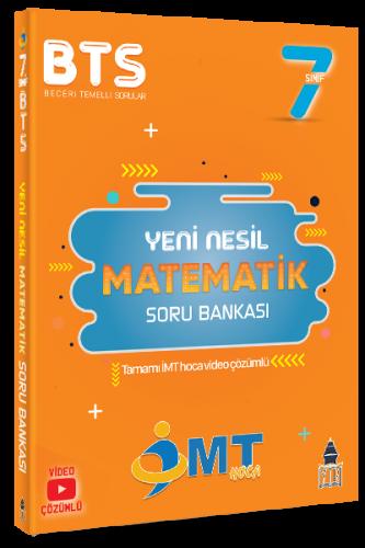 İMT Hoca 7. Sınıf Matematik Yeni Nesil Soru Bankası Video Çözümlü Komi