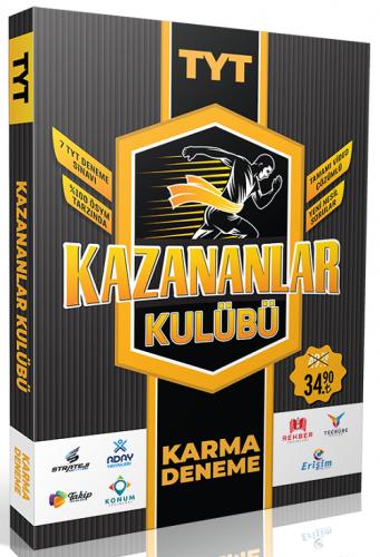Köşebilgi Yayınları TYT Kazananlar Kulübü 7 Karma Deneme Video Çözümlü