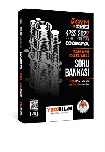 Yediiklim Yayınları 2022 KPSS Genel Kültür Ösym Ne Sorar Coğrafya Tama