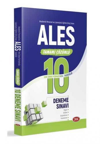 Data ALES Tamamı Çözümlü 10 Deneme Sınavı