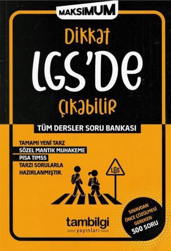 Tambilgi Yayınları Dikkat LGS de Çıkabilir Tüm Dersler Soru Bankası