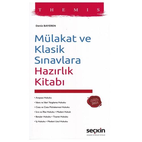 THEMIS Mülakat ve Klasik Sınavlara Hazırlık Kitabı Deniz Bayeren