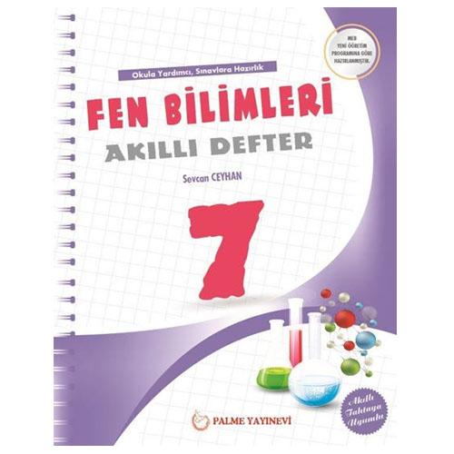 Palme 7. Sınıf Fen Bilimleri Akıllı Defter
