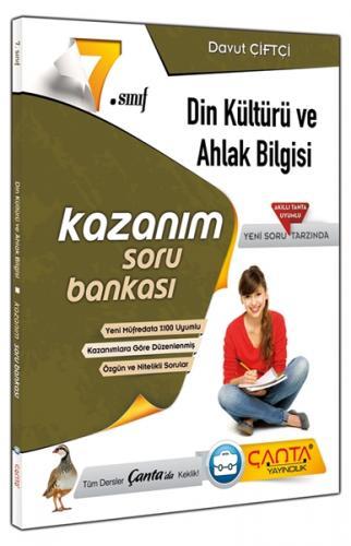 Çanta 7. Sınıf Din Kültürü ve Ahlak Bilgisi Kazanım Soru Bankası