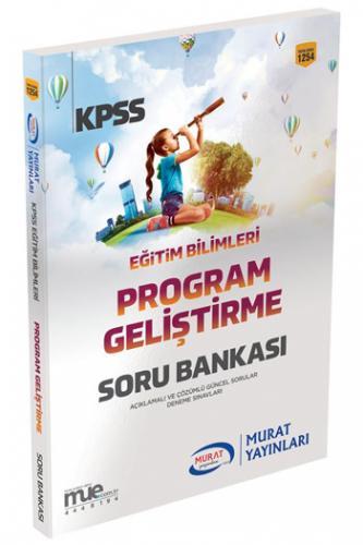 Murat KPSS Eğitim Bilimleri Program Geliştirme Soru Bankası