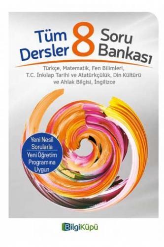 BilgiKüpü Yayınları 8. Sınıf Tüm Dersler Soru Bankası