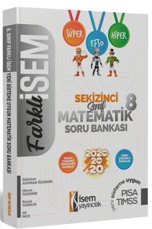 İsem Yayıncılık 8. Sınıf Farklı İsem Matematik Soru Bankası