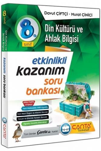 Çanta Yayınları 8.Sınıf Din Kültürü ve Ahlak Bilgisi Kazanım Soru Bankası