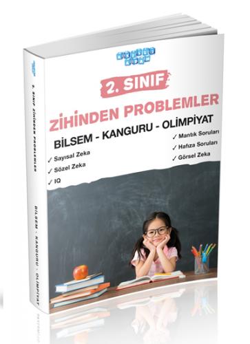 Akıllı Adam Yayınları 2. Sınıf Zihinden Problemler Bilsem Kanguru Olimpiyat