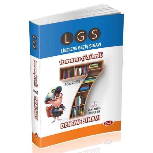 Data 8. Sınıf LGS 7 Deneme Tamamı Çözümlü