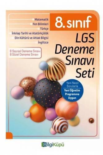 BilgiKüpü Yayınları 8. Sınıf LGS Deneme Sınav Seti