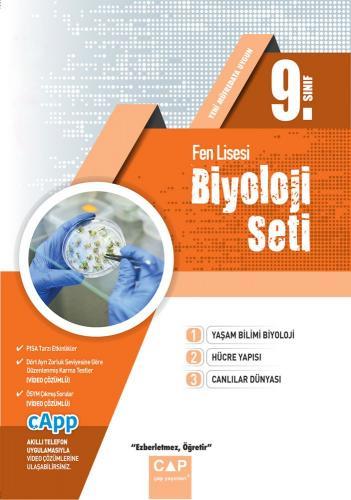 Çap 9. Sınıf Fen Lisesi Biyoloji Seti