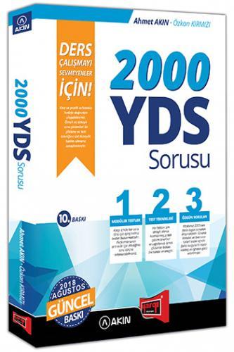 2000 YDS Sorusu Ders Çalışmayı Sevmeyenler İçin - Ahmet Akın