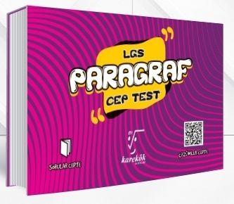 Karekök Yayınları 8. Sınıf LGS Paragraf Cep Test %40 indirimli Komisyo