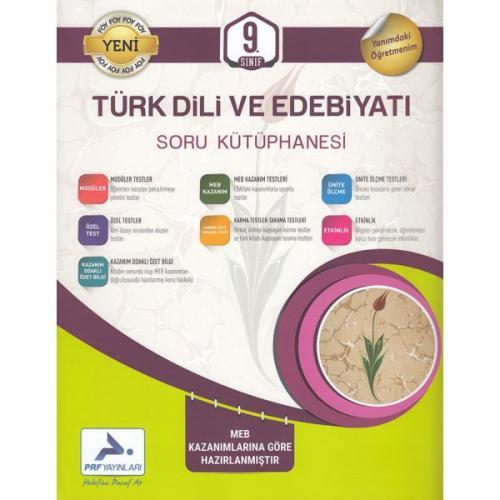 PRF 9. Sınıf Türk Dili ve Edebiyatı Soru Kütüphanesi