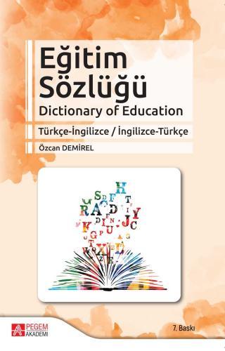 Eğitim Sözlüğü Özcan Demirel