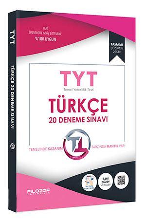 Filozof TYT Türkçe 20 Deneme Sınavı