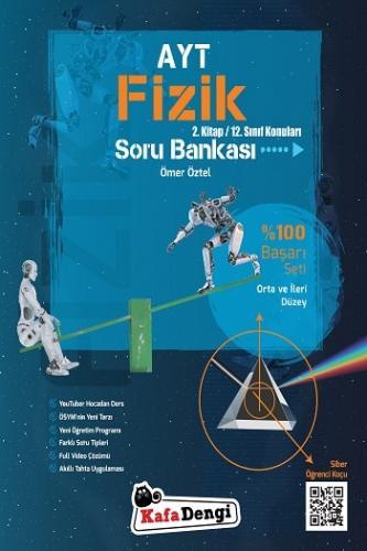 KafaDengi Yayınları AYT Fizik Orta ve İleri Düzey Soru Bankası 2. Kita
