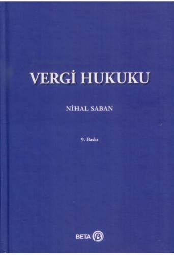 Vergi Hukuku  Nihal Saban