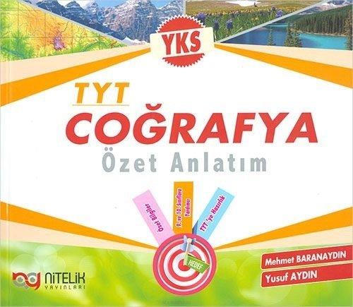 Nitelik Yayınları TYT Coğrafya Özet Anlatım